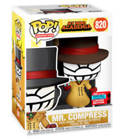 FUNKO POP MY HERO ACADEMIA MR COMPRESS NYCC EXCLUSIVE IN HAND MINT