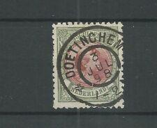 Nederland  48 Wilhelmina 5Gld  VFU/gebr CV 575  €  CERTIFICAAT !!!