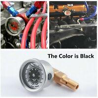 0-100 PSI Fuel Pressure Liquid Filled Gauge Adapter Kit For Honda Civic Integra