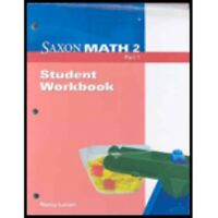 Grade 2 Saxon Math Student Workbooks 1 & 2 Fact Cards & More 3rd Edition 2nd