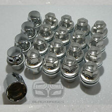 A SET OF 23mm RANGE ROVER DISCOVERY SPORT VOGUE ALLOY LOCKING WHEEL BOLTS NUTS