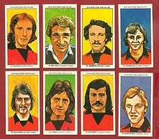 DUNDEE UNITED FC The Terrors Players X 8 SUN SOCCERCARDS