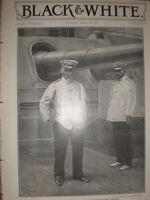 Japan Admiral Togo Heihachirō commander in chief Japanese Fleet 1905 old print