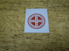 Schwinn Approved Red Gear Edge Seat Tube Bicycle Decal Hollywood Lightweight