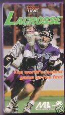 LACROSSE - World's Fastest Game on Two Feet. VHS Sealed