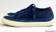 FitFlop Womens Sneakers Super T Leather Suede Lace Up Blue French Navy Shoes 7