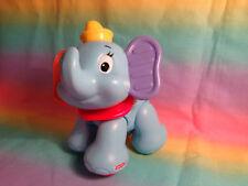 2012 Fisher Price Disney Amazing Animals Pals Cliking Baby Dumbo Elephant Toy