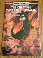 SPI The Creature That Ate Sheboygan Mini-Game (1979) Greg Costikyan Complete