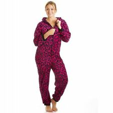 Animal Print Fleece Jumpsuits & Playsuits for Women