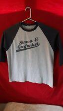 Simon & Garfunkel Old Friends Tour concert shirt large unique music