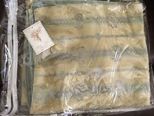 "NWT Fino Lino Duvet Cover Silk Gold Slate Color 90""x102"" $1,612.00 MSRP"