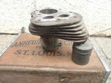Harley Flathead WL WLA Servicar Motor front Zylinder original
