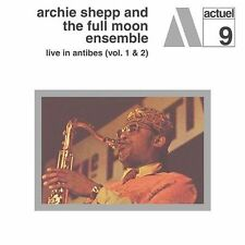 SEALED NEW CD Archie Shepp & The Full Moon Ensemble - Live In Antibes Volumes 1