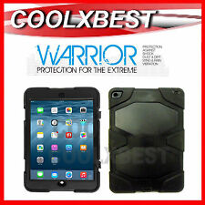 WARRIOR iPAD AIR 2 CASE HEAVY DUTY SHOCK PROOF PROTECTION HARD COVER w STAND