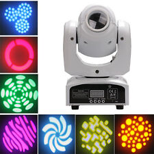 30W RGBW LED Moving Head Stage Lighting DMX-512 DJ Disco XMAS Club Party Light