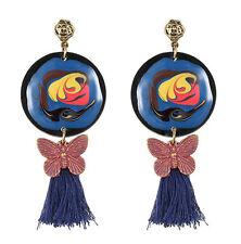 MARNI H&M   Butterfly & Tassel  Earring Set