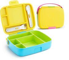 Munchkin Bento School Kids Lunch Box Picnic Food Storage Sandwich Container