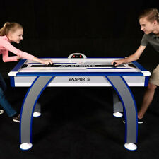 """EA Sports 54"""" Air Powered Hockey Table w/ LED Electronic Scorer Arcade Game Room"""