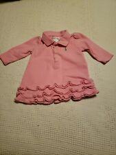 RALPH LAUREN Polo Girl's Pink Dress Size 3 Month