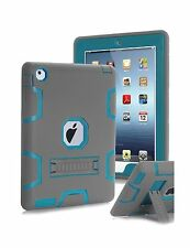 Topsky Case for iPad 2/3/4 Bundle with Stylus Pen, Screen Protector and New