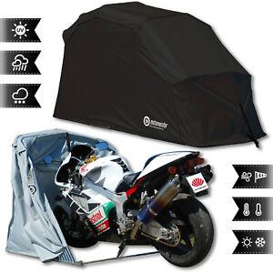 Motorradgarage Motorrad Roller Moped Bike Garage Schutzplane Faltzelt Schwarz L