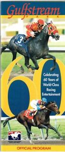 CAT THIEF, VICAR IN 1999 FLORIDA DERBY HORSE RACING PROGRAM - GULFSTREAM PARK!