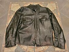 Vintage Buco J100 Cafe Racer Leather Motorcycle jacket  Sz 44/46