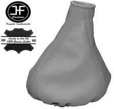 GREY REAL LEATHER MANUAL GEAR GAITER FITS FIAT PANDA 2013+