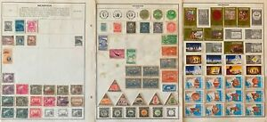 Lot of Nicaragua Old Stamps Used/MH