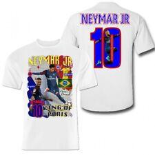 Neymar Polyester sports t-shirt PSG Brazil kids Paris football shirt