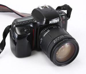 NIKON N50  BLACK, 28-105/4-5.6 TAMRON AF AI-S (DUST, MODERATE HAZE)/209724