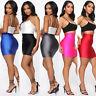 Summer Women's Tight Pencil Bandage Skirt Stretchy High Waist Mini Short Bodycon