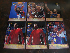 1997 Score Board Players Club Basketball---Lot Of 6---Dupes---See List---NrMt