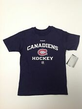 Nhl Montreal Canadiens Center Ice Hockey Collection Youth Hockey T Shirt Nhl Nwt
