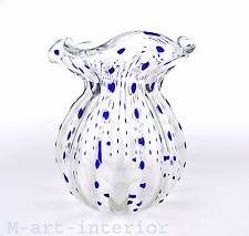 Jugendstil Kralik Vase gerippt Bohemian Art Nouveau Glass Böhmen um 1900