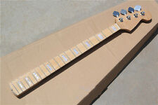 Neck for Electric J Bass Guitar Parts Replacement Maple 20 Fret and tuners Parts