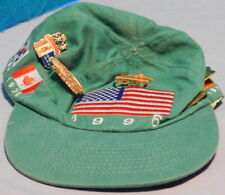 Coca-Cola, Coke 1996 Olympic Cap with US Flag and 5 Coca-Cola Pins on It