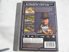 PC SID MEIERS RAILROADS BOXED WITH MANUAL SECONDHAND CD GAME.