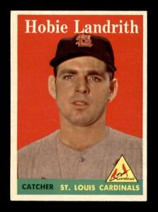 1958 Topps Set Break # 24 Hobie Landrith NM *OBGcards*