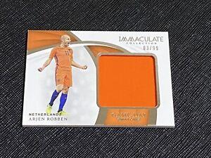 2018 Immaculate Arjen Robben SP Jersey Card /99