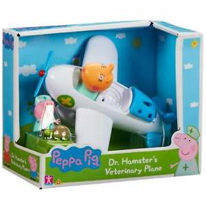 Peppa Pig - Dr Hamster's Veterinary Plane with removable Peppa Figure