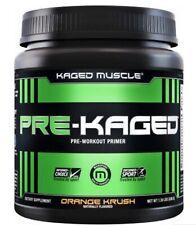 Kaged Muscle Pre-Kaged 20 Serves Orange Krush Preworkout Primer..PWO#jym#c4