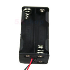 LOT 10x Battery Holder 4 Size AA LR6 Cell Case 6V DC Box With Wire Lead For DIY