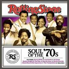Rolling Stone: Soul of the 70s / Barry White, Al Green, Marvin Gaye (CD, 2013)
