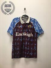 Burnley home Football Shirt 1991/1993 Men's Small