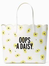Kate Spade Down The Rabbit Hole Scalloped LEN Oops A Daisy Tote Bag