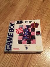 Hatris Nintendo Gameboy Cib Box And Game Only Is Like Tetris And Fun