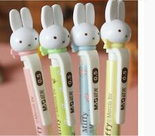 8pcs Kawaii Fun 0.5mm Mechanical pencils M&G Miffy Rabbit bunny Figure cute