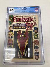 Marvel Comics Fantastic Four 54 CGC Graded 5.5