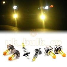 Amarillo Xenon Faros + Niebla Bombillas Para Mercedes Benz E-class Modelos h4h7h1